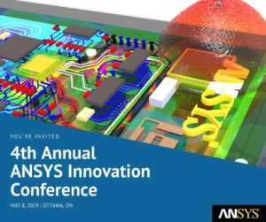 4th Annual ANSYS Innovation Conference @ Brook Street Hotel | Ottawa | Ontario | Canada