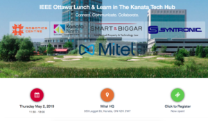 The return of the IEEE Ottawa Lunch and Learn @ Mitel HQ | Ottawa | Ontario | Canada