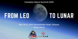 Call for Volunteers at the Canadian Space Summit 2019 @ Brookstreet Hotel | Ottawa | Ontario | Canada
