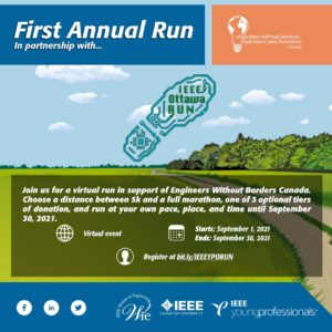 IEEE Young Professional Ottawa Run! @ Online | Lenexa | Kansas | United States